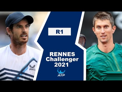 Andy Murray vs Yannick Maden   RENNES 2021