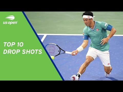 Top 10 Drop Shots   2021 US Open