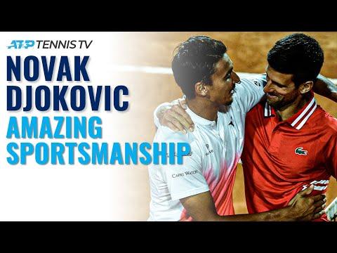 Novak Djokovic: Amazing Sportsmanship Moments!