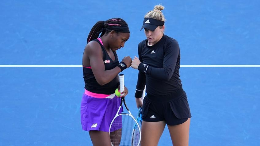 Caty McNally: Me and Cori Gauff knew we would make US Open doubles final