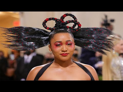 Naomi Osaka's HYPOCRISY on display again at MET Gala by using the MEDIA to BRAND BUILD!