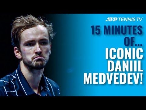 Daniil Medvedev Being Iconic For 15 Minutes 🤷♂️😂