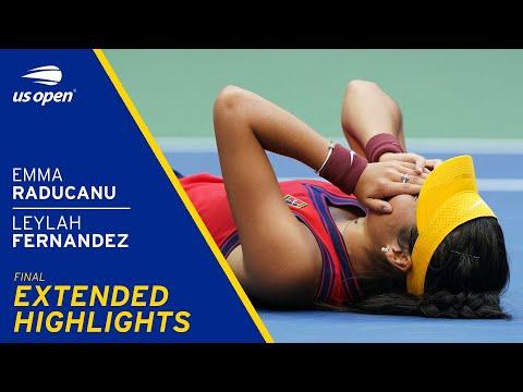 Emma Raducanu vs Leylah Fernandez Extended Highlights | 2021 US Open Final