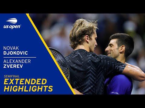 Novak Djokovic vs Alexander Zverev Extended Highlights | 2021 US Open Semifinal