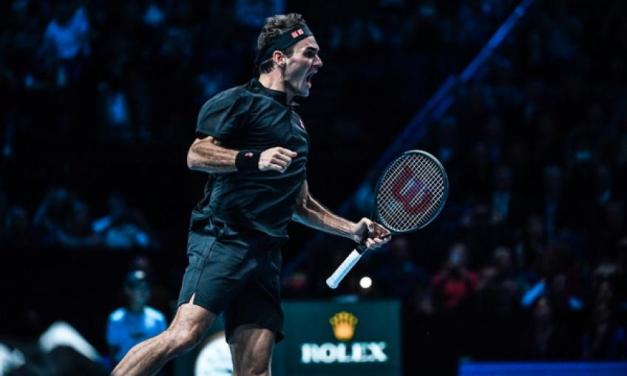 When Roger Federer counted a win over Novak Djokovic as a 'double one'