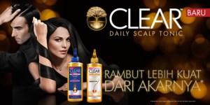 Clear shampoo bantu mengatasi ketombe