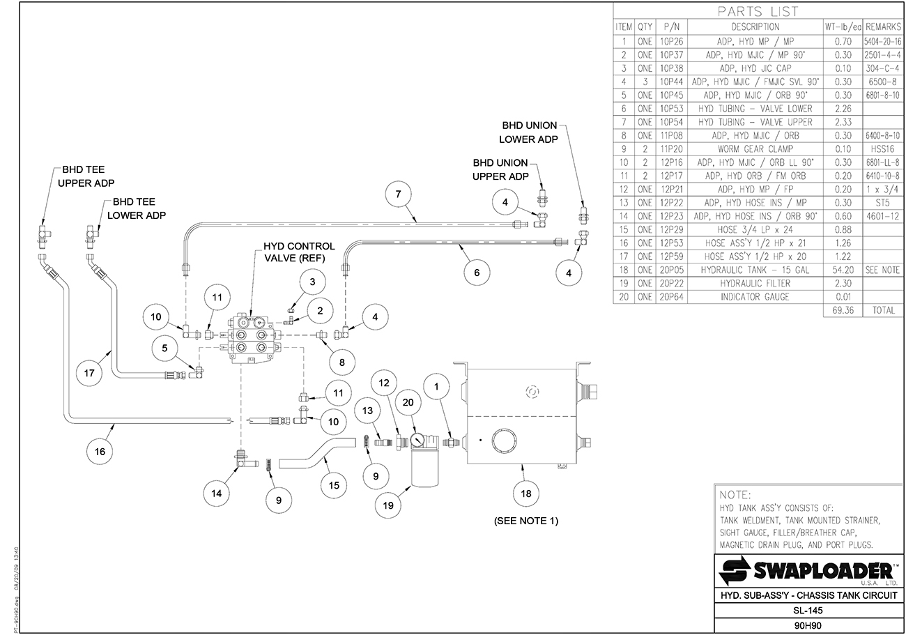Hydraulic Tank Adapters | Wiring Diagram Database