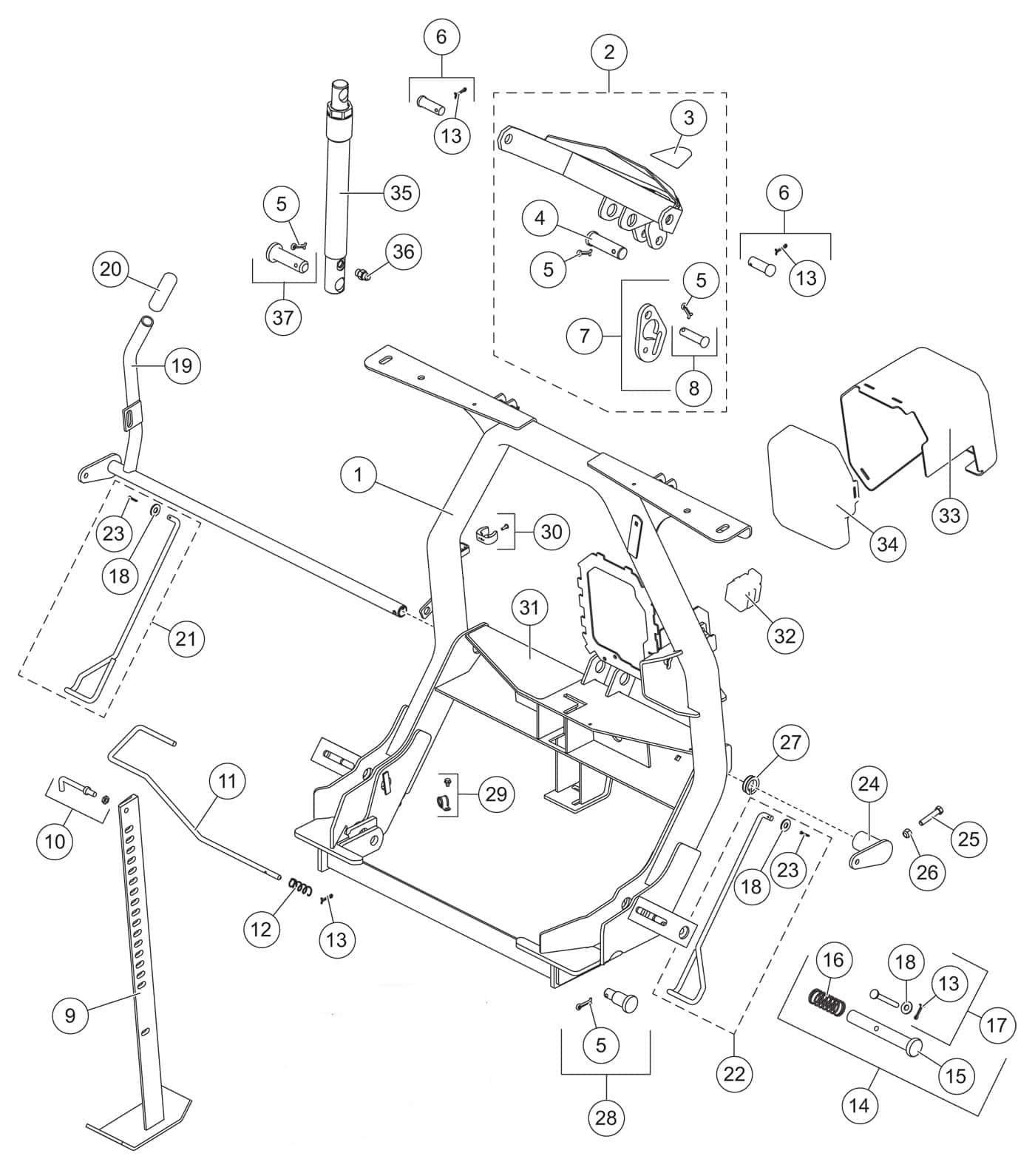 Hd2 headgear ponents diagram