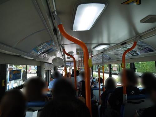 内宮行きバス 内部