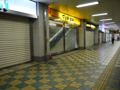 津市駅の様子