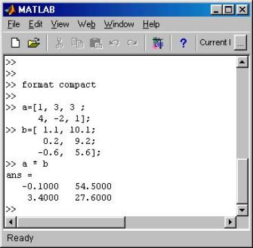 Matrix in Matlab