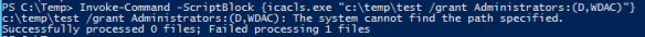 Use Legacy Executable with PowerSell - IcaCls Invoke-Command