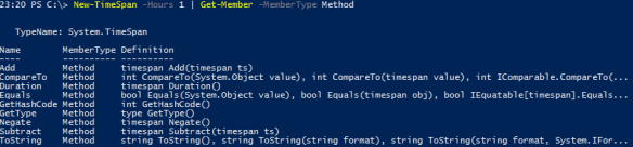 PowerShell Time Multiplication - Get-Member