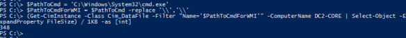 Get File Information Remotely PowerShell - CIM.PNG