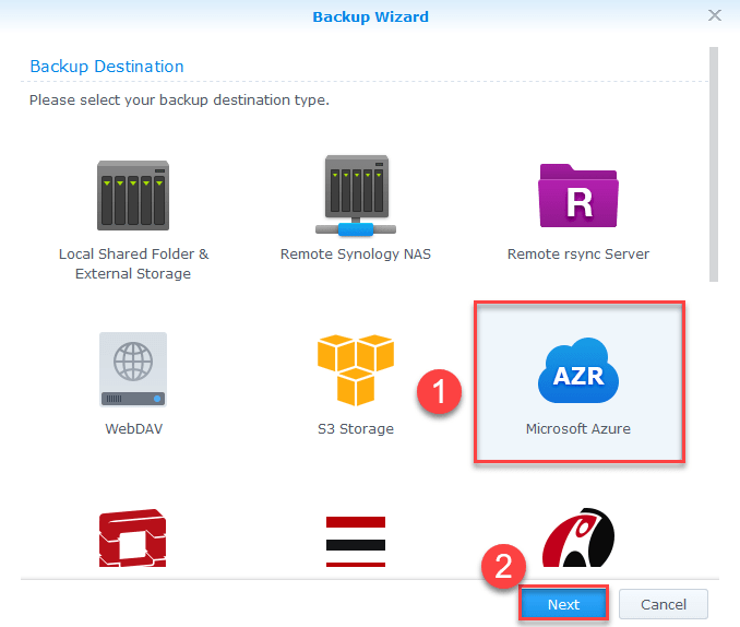 Configure Backup Synology NAS Azure Storage - IT for Dummies