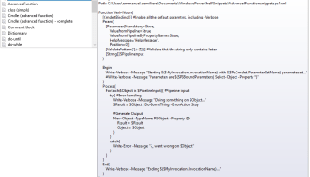 Powershell functions to pin and unpin from windows taskbar it for powershell advanced function template maxwellsz