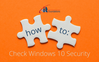 How to check Windows 10 Security