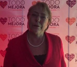 Todo Mejora: Presidenta Michelle Bachelet envía mensaje en el Día Internacional del Orgullo LGBTI.