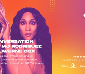 Laverne Cox Interviews Mj Rodriguez! | A Digital Pride Experience