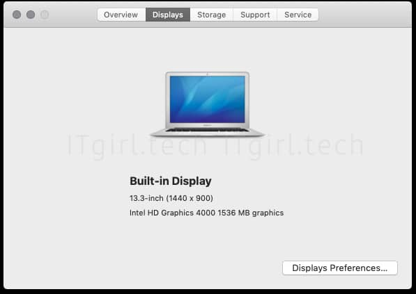 "Using ""About This Mac"" to gather your Mac system storage, memory, display, processor and more."