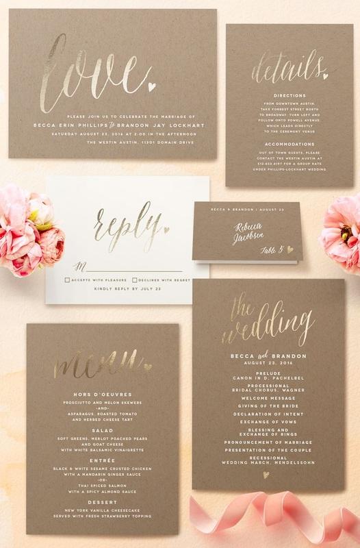 Wedding Invitation Suite How To Send Invitations Using The B List Method