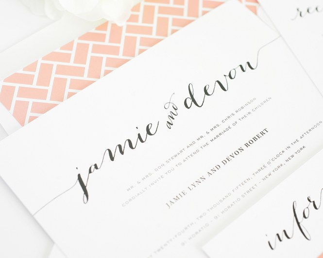 How To Write Your Wedding Invitations