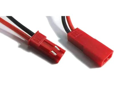 Male and Female JST connector, type RCY