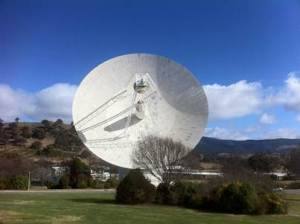 DSS43 tracking Curiosity before landing