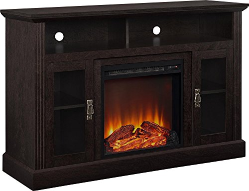 Best Electric Fireplace TV Stand - Ameriwood Home Chicago Electric Fireplace TV Console