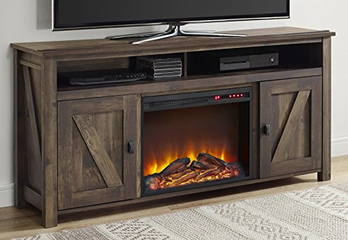 Best Electric Fireplace TV Stand - Ameriwood Home Farmington Electric Fireplace TV Console