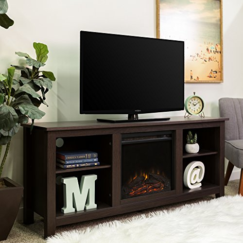 Best Electric Fireplace TV Stand - Walker Edison Fireplace TV Stand