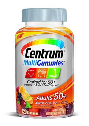 Centrum MultiGummies Adults 50+