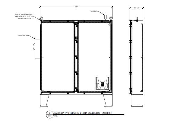 Electric-Utility-Enclosure