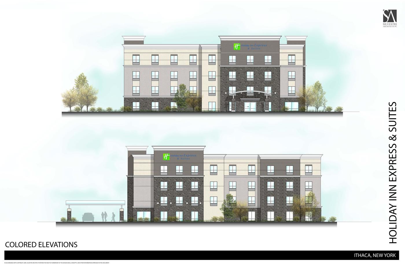 San Antonio Convention Center Floor Plan Ithaca Builds 171 371 Elmira Road Current Site Photos