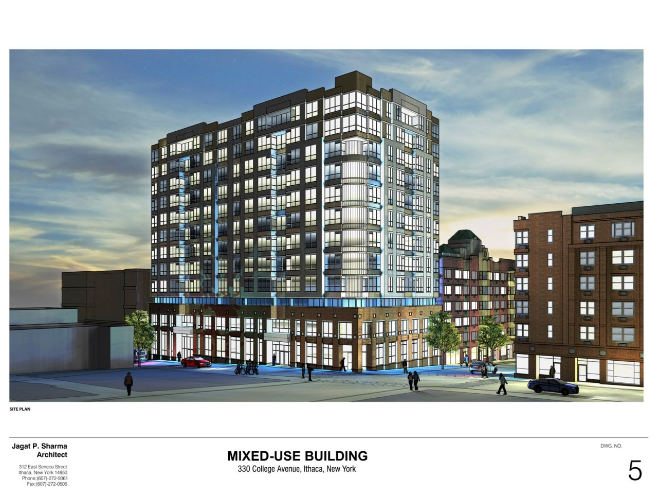 330 College Avenue - Sketch Plan Presentation - 07-22-14-1