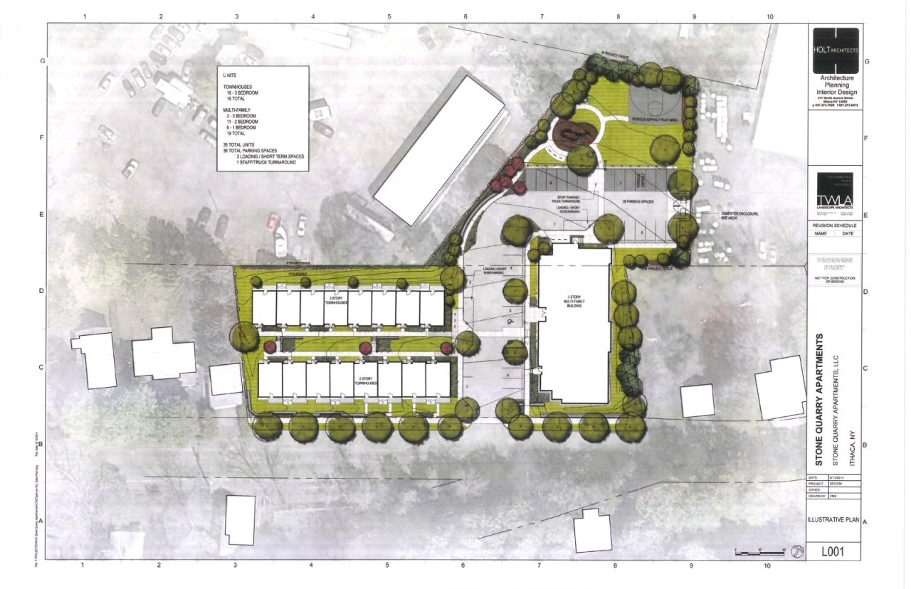 Ithaca Builds site plans – Site Drawings For Site Plan