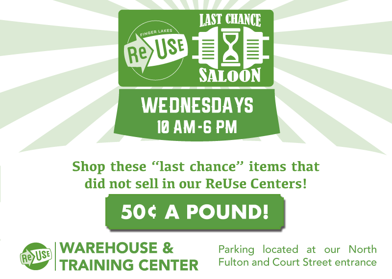 50¢ A Pound At The Last Chance Saloon!
