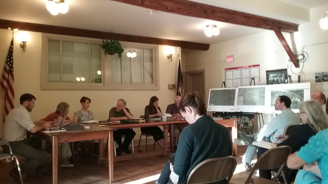 Trumansburg planning board meeting