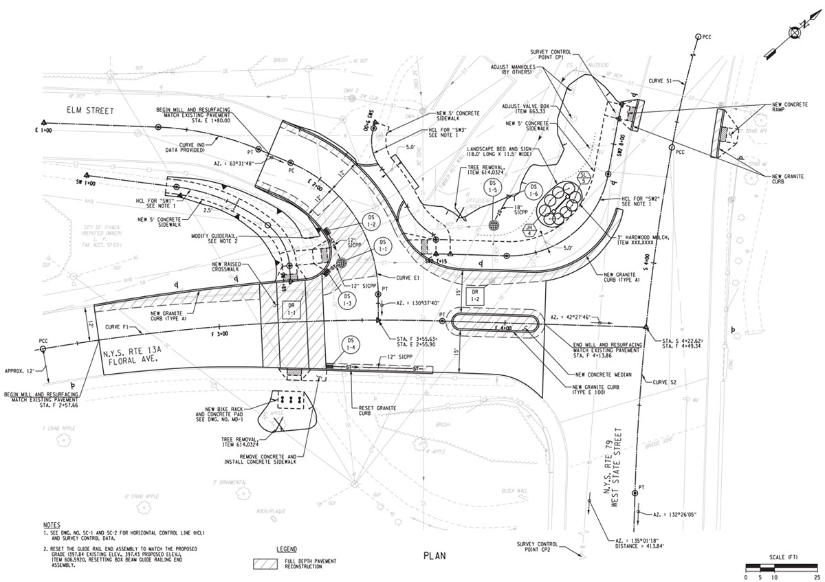 Hector Floral Intersection Plans