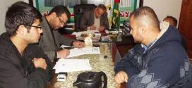 نقابات العمال تتم 9 مخالصات بقيمة 27 ألف شيكل