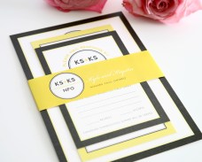 gray-yellow-wedding-invitation-modern