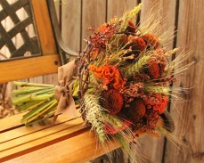Earthy Fall Wedding Bouquet