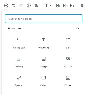 Añadir Gutenberg Block