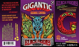 Gigantic Brewing Black Friday