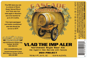 Cascade Vlad the Imp Aler 2011