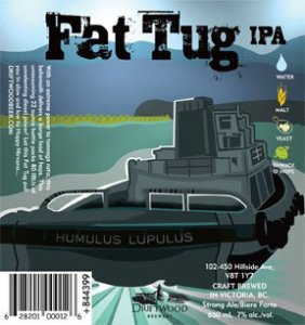 Driftwood Fat Tug IPA