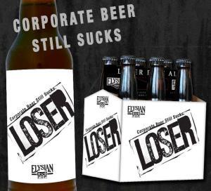 Elysian Loser Pale Ale Ad