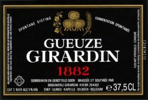 Girardin Gueuze 1882 (Black Label)