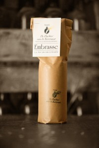 Embrasse's special packaging (Photo from www.dochtervandekorenaar.be)