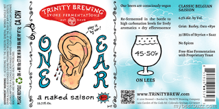 Trinity One Ear Saison
